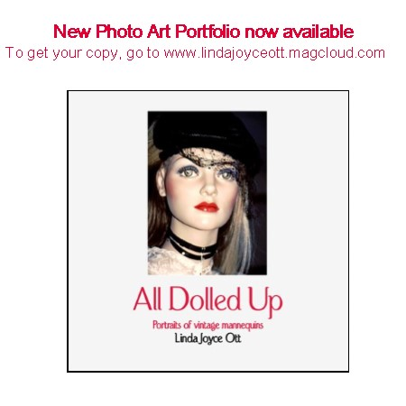 ad for ALL DOLLED UP PHOTO BOOK