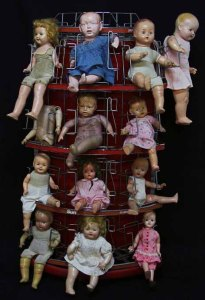 Ready-Made 1 - Rack of Dolls